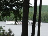 Cruise New England's largest lake, Lake Winnipesaukee, abord the M/S Mount Washington.